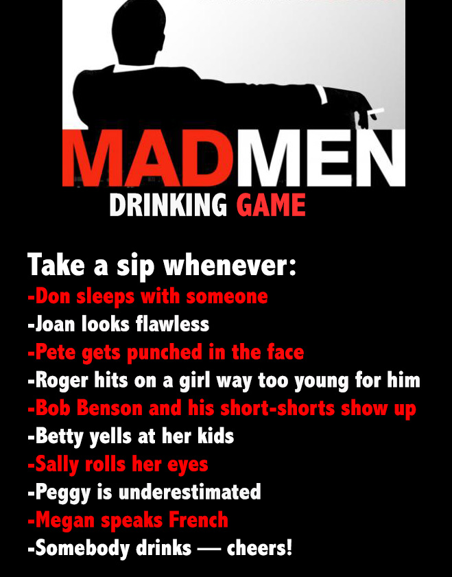 Parenthood Drinking Game
